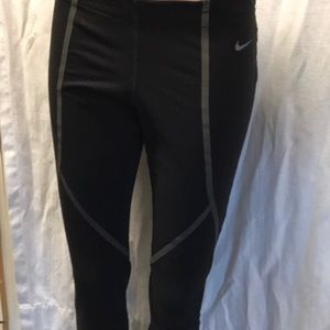 Nike dri-fit running leggings medium